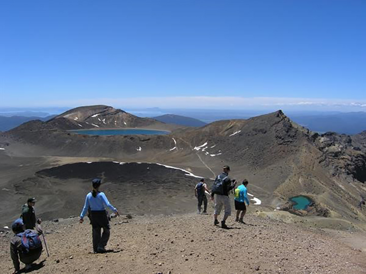 Tongariro Alpine Crossing hike