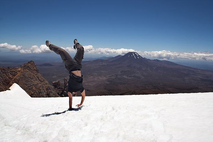 A guide to tackling the Tongariro Alpine Crossing in Winter