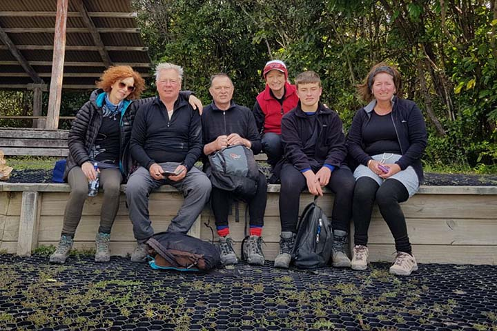 Tongariro crossing group
