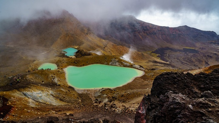 Tongariro Lord of the Rings tour