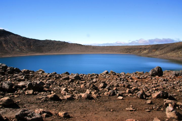 blue lakes tongariro
